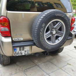 Jeep Liberty საბუქსირე